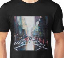 Rainy city Unisex T-Shirt