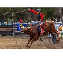 Rodeo Fun 2 Photographic Print