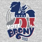 VOTE BRONY 2012 by Bamboota