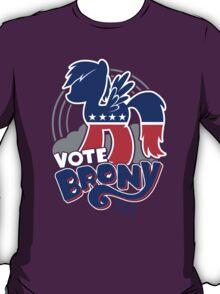 VOTE BRONY 2012 T-Shirt