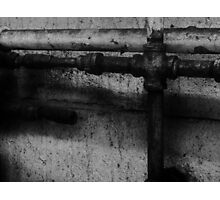 Pipe Lines Photographic Print