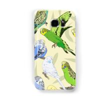 Budgies - Pale Samsung Galaxy Case/Skin