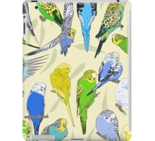 Budgies - Pale iPad Case/Skin