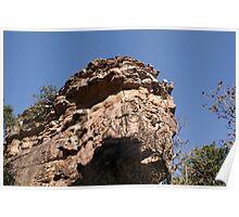 Rock formations BhimBhetka Poster