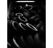 The Tire Room Photographic Print