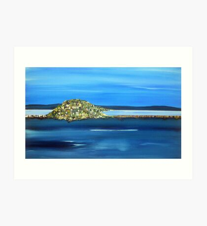 """Midway Point, Tasmania"" Art Print"