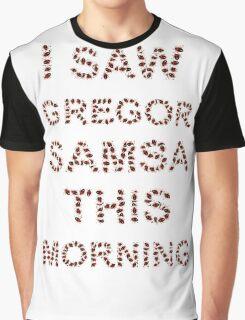 I Saw Gregor Samsa This Morning Graphic T-Shirt