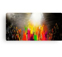 His hands and feet  Canvas Print