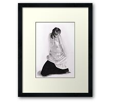 Top Down Framed Print