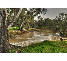 Down The Lachlan Photographic Print