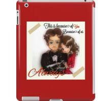 This is because of us iPad Case/Skin