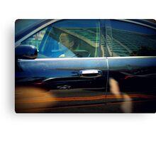 dreaming driving Canvas Print