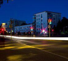 City street by Tommi Rautio