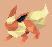 Origami Flareon by Jemma Richmond