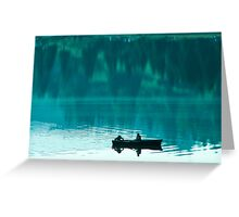Fishing moment Greeting Card