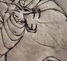 Dragon Sketch Sticker