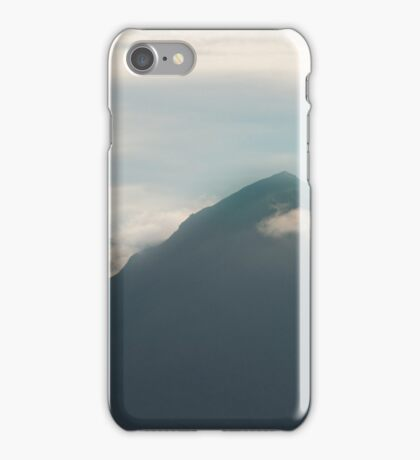 Marsco Red Cuillin Isle of Skye iPhone Case/Skin