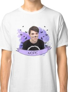 dan howell (with banner) Classic T-Shirt
