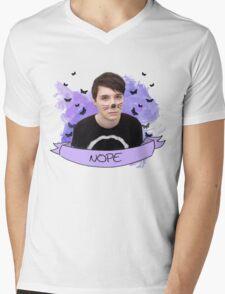 dan howell (with banner) Mens V-Neck T-Shirt