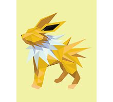 Origami Jolteon Photographic Print