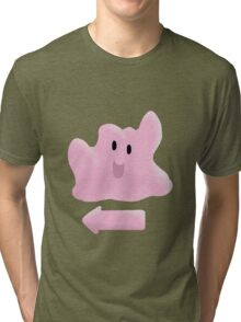Yeah, Ditto (Pokemon) Tri-blend T-Shirt