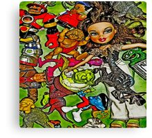 Colorful Toys #1a Canvas Print