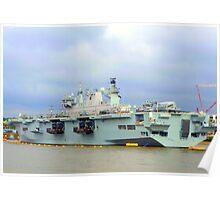 HMS Ocean. Poster
