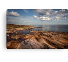 Sydney Rocky Seascape Canvas Print