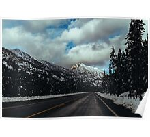 Driving in the North Cascades Poster