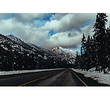 Driving in the North Cascades Photographic Print