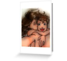 Taking selfie Greeting Card