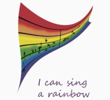 I can sing a rainbow One Piece - Short Sleeve