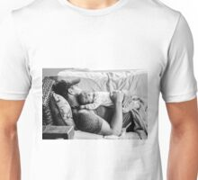 a father and his son Unisex T-Shirt