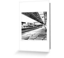 Newport Station Greeting Card