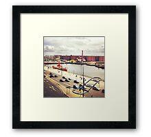 Albert Dock Framed Print