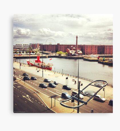 Albert Dock Canvas Print
