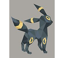 Origami Umbreon Photographic Print