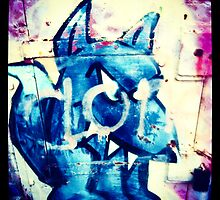 Graffiti Dog by Tim Topping