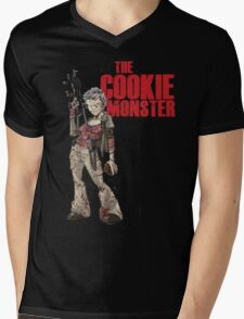 The Cookie Monster Mens V-Neck T-Shirt