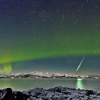 Aurora and Fireball by Frank Olsen
