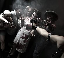 Zombies - the end of the humanity I by ARTistCyberello