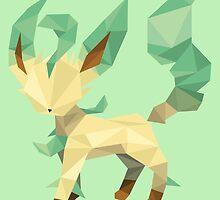 Origami Leafeon by Jemma Richmond