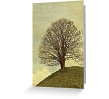 Hill top Greeting Card