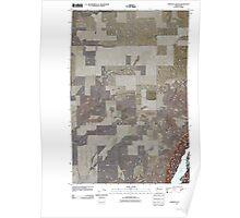 USGS Topo Map Washington State WA Jameson Lake SE 20110425 TM Poster