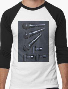 Microphones Men's Baseball ¾ T-Shirt