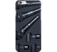 Microphones iPhone Case/Skin