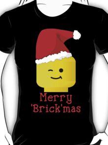 Santa Minifig - Merry 'Brick'mas T-Shirt