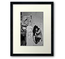 No, Joe, it's over ... Framed Print