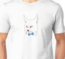 Lynx in a dicky bow Unisex T-Shirt