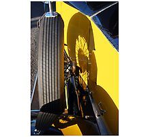 Rolls  Royce Wheel Photographic Print